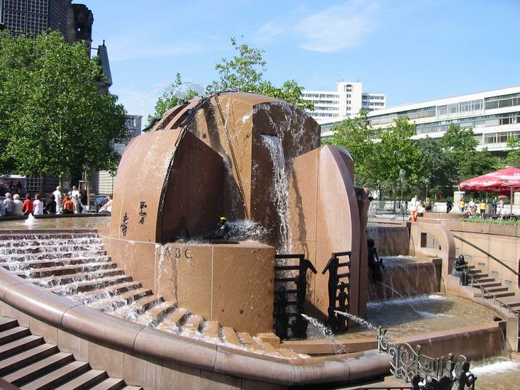 Weltkugelbrunnen Berlin