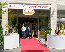 Eingang zum Currywurst Museum