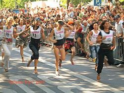 Glamour Stiletto Run in Berlin